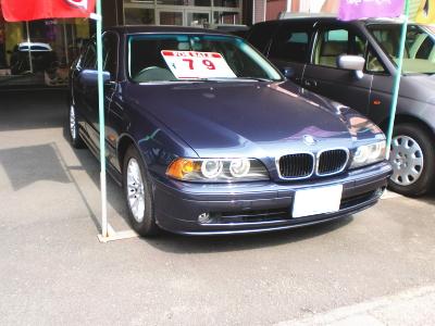 平成14年式BMW・525i