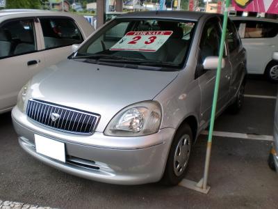 平成13年式トヨタ・ヴィッツ
