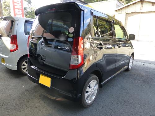 平成21年式・ワゴンR・FXリミテッドⅡ・黒・フル装備・ワンオーナー【中古車】