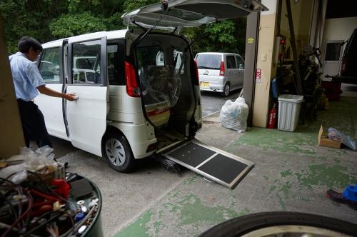 スペーシア・車椅子移動車