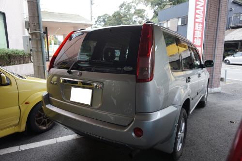 平成15年式・日産・エクストレイル・シルバー・4WD【中古車】