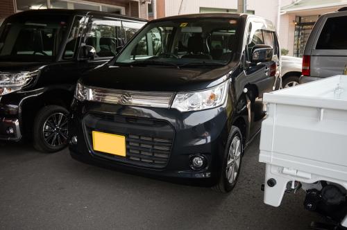 平成25年・スズキ・ワゴンR・スティングレー・X・ブラック【中古車】
