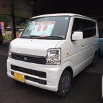 平成25年式・スズキ・エブリィワゴン・JPターボ・ワンオーナー・走行少ない【中古車】