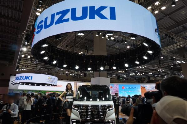 東京モーターショー-SUZUKI