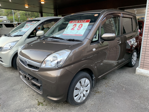 平成22年式/スバル/ステラ/Lブラックインテリア/軽自動車