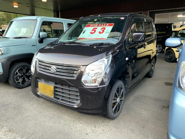 平成26年式・スズキ・ワゴンR・FX・ブラウン