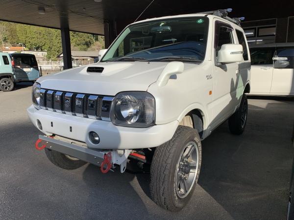 平成21年・スズキ・ジムニー・ワイルドウインド・4WD・白