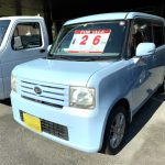 20年式・ダイハツ・コンテ・水色・軽自動車